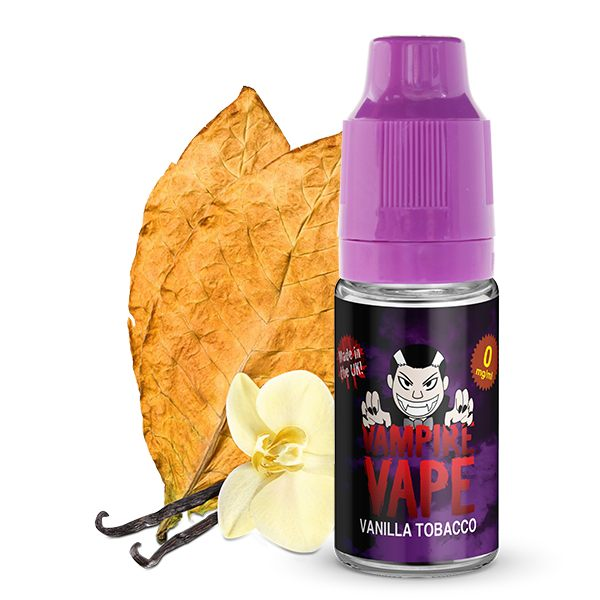 Vanilla Tobacco E-Liquid - 10ml Vampire Vape