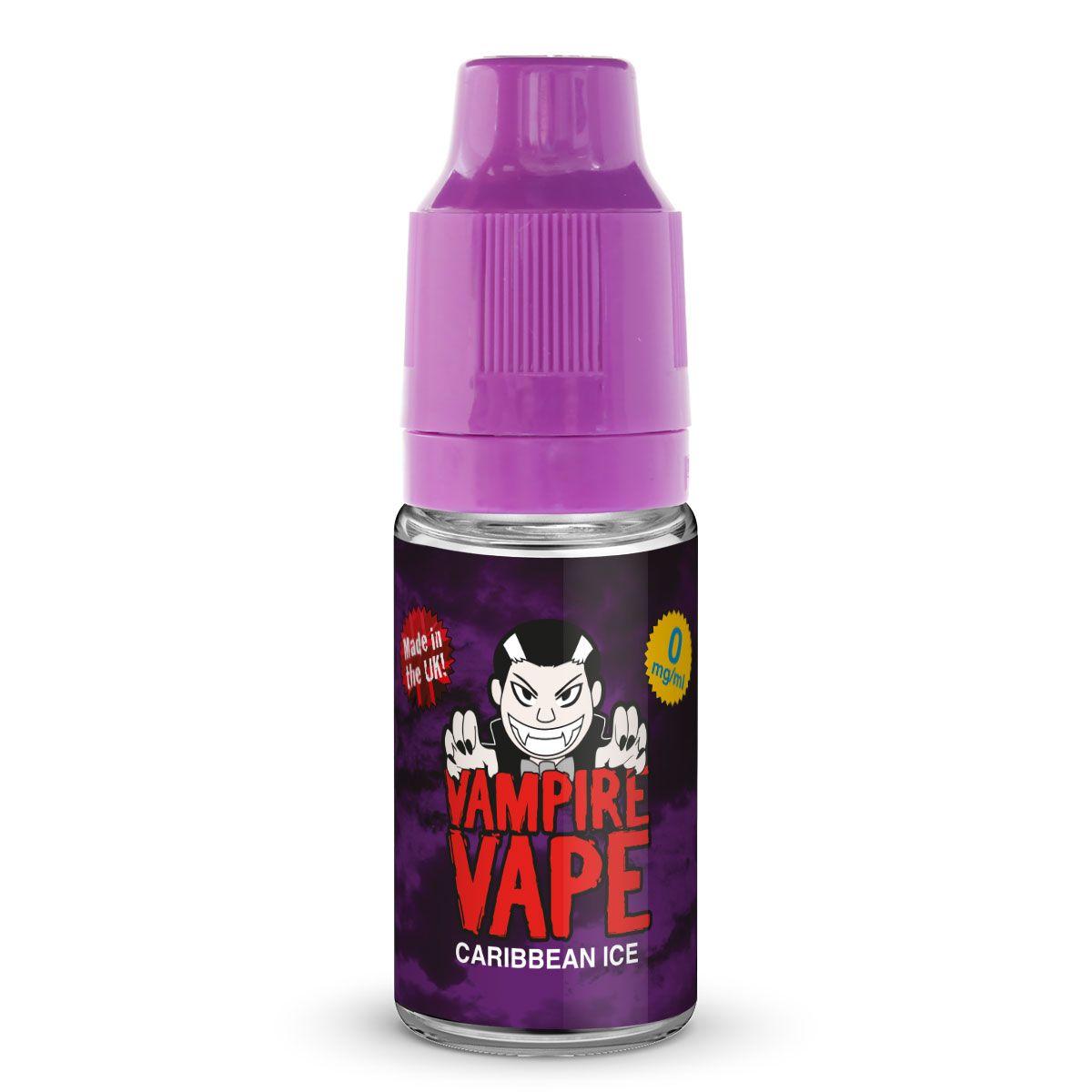 Caribbean Ice E-Liquid - 10ml Vampire Vape