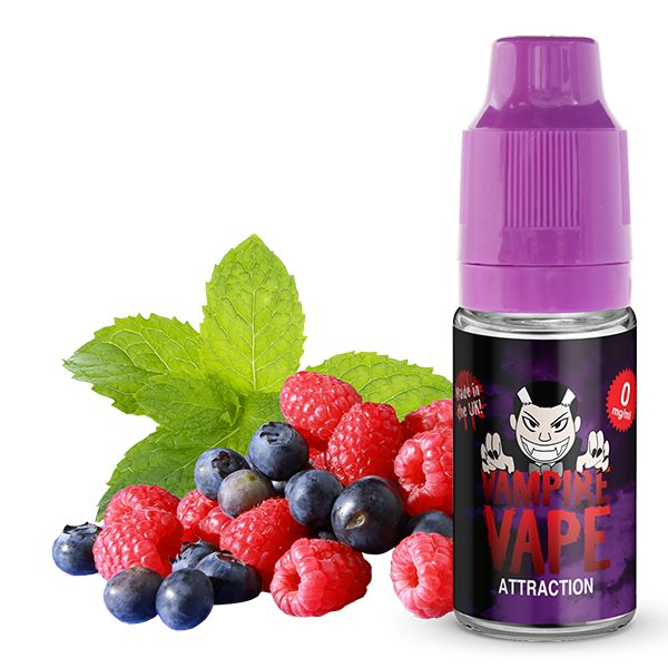 Attraction E-Liquid - 10ml Vampire Vape