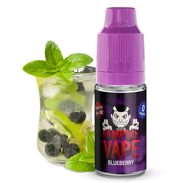 Blueberry E-Liquid - 10ml Vampire Vape